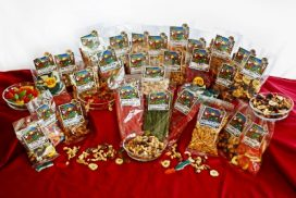 These days, consumers not only want premium choices, they want healthy options that let them grab and go!  Be Happy & Healthy™ Snacks offers customers a veritable cornucopia of choices!