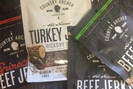 Country Archer jerky is handcrafted from mostly organic, real food ingredients. It's made in small batches using only the finest USDA inspected 100% grass-fed beef.